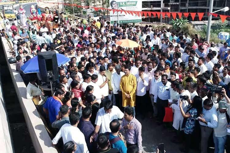 After delay of over 10 years Pumpwell flyover inaugurated in Mangaluru