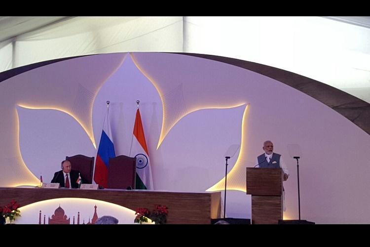 Modi says India Russia ties truly privileged