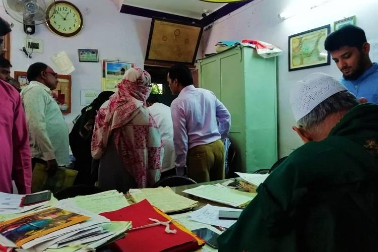 In Hyderabad fears about NRC sparks rush at offices of qazis and Waqf Board