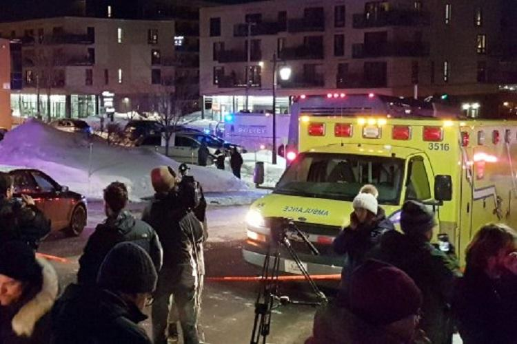Five reported dead at mosque shooting in Quebec City Canada