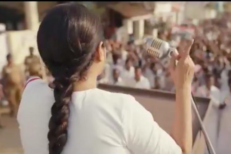 Teaser of Queen released Web series on Jayalalithaa starring Ramya Krishnan