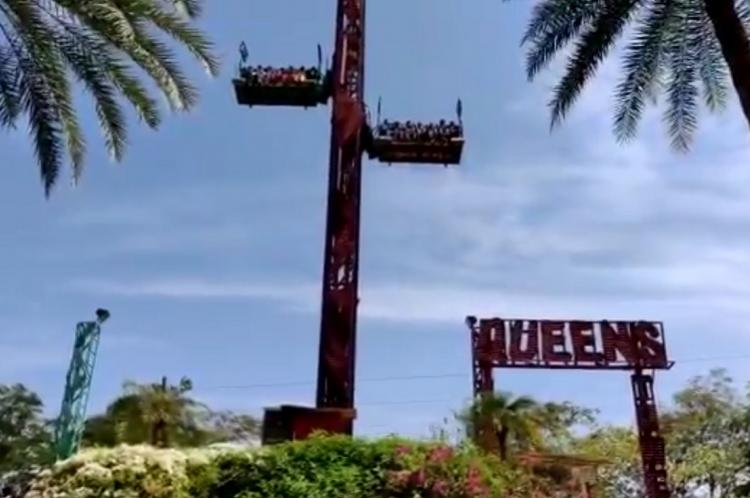 Narrow escape for 12 after Chennai amusement park ride plummets to the ground