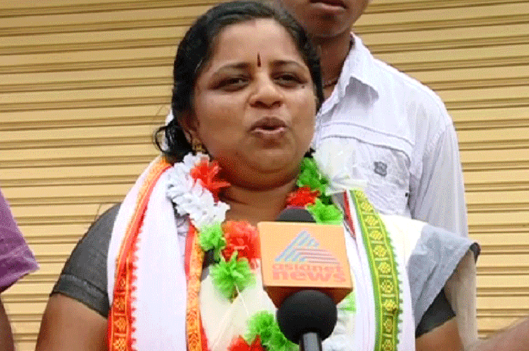 A Congress candidate in Kerala says she has no chance of winning embarrassed party replaces her