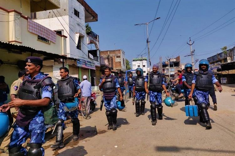 Situation peaceful in Telanganas Bhainsa town after clash 61 detained so far