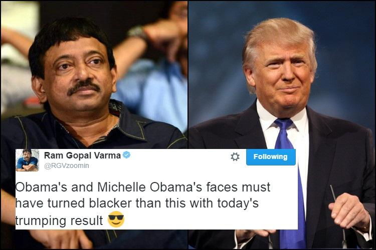 Ram Gopal Varma just proved that he is creepier than Donald Trump
