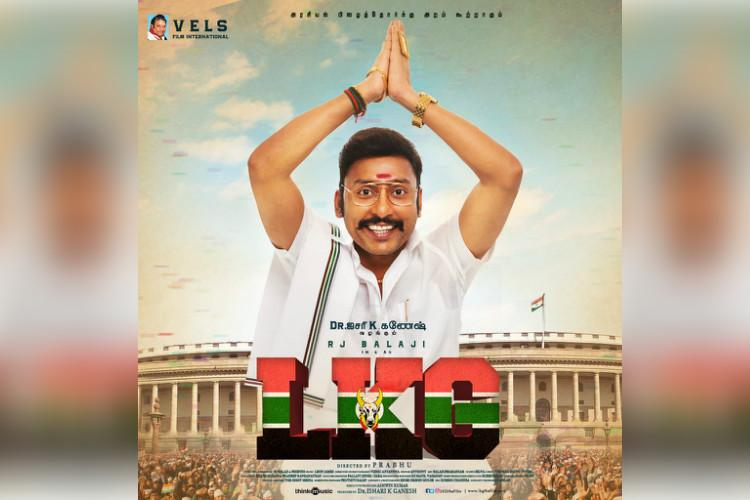 RJ Balaji turns writer and lead for upcoming Tamil political satire LKG