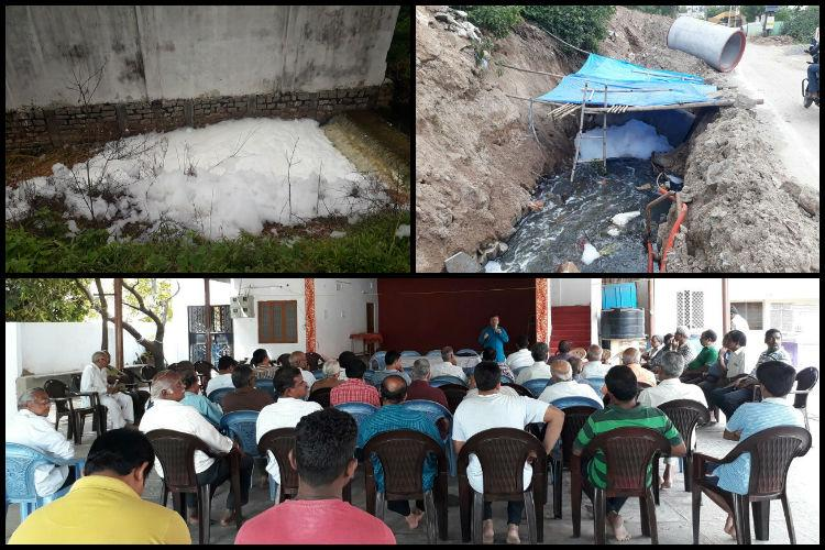 Save RK Puram Lake As water froths over again alarmed Hyd residents hold meet for solutions