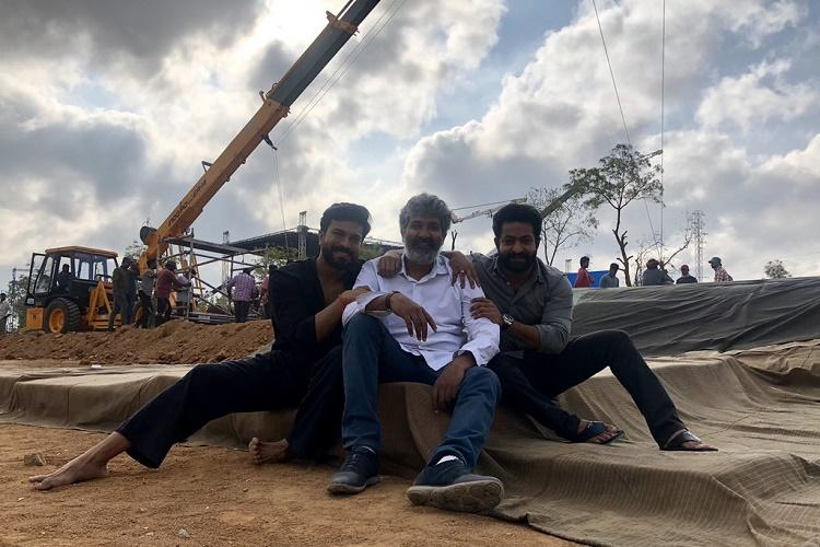 Second shooting schedule of Rajamoulis RRR commences