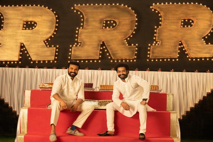 RRR team wishes Diwali