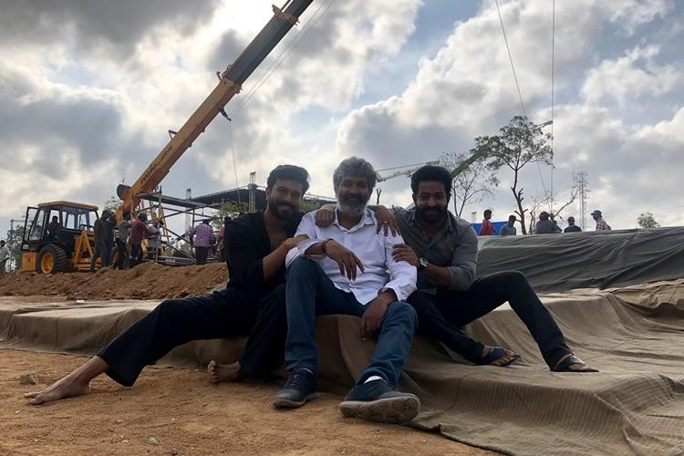 First schedule of SS Rajamoulis multi-starrer RRR wrapped up