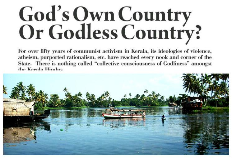 Diatribe in RSS mouthpiece paints Kerala as Godless country Keralites hit back with fury