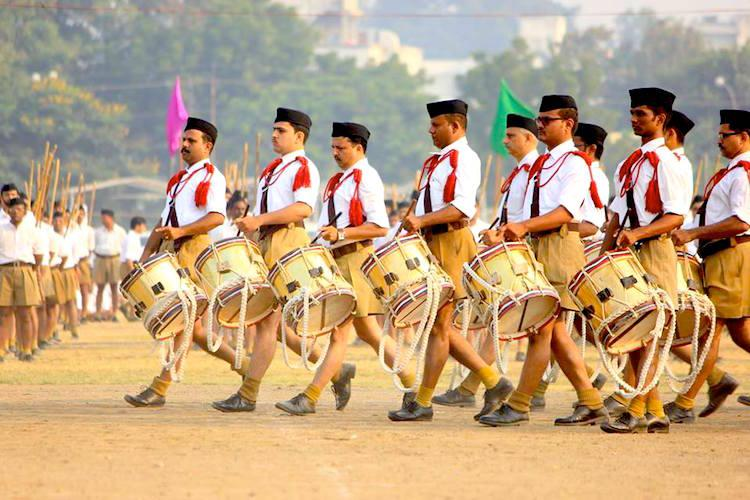 RSS calls for discussion on the issue of women entering temples