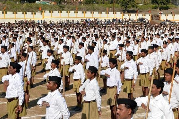 In embattled Kerala The Organiser writes of victimised peace-loving RSS ahead of polls