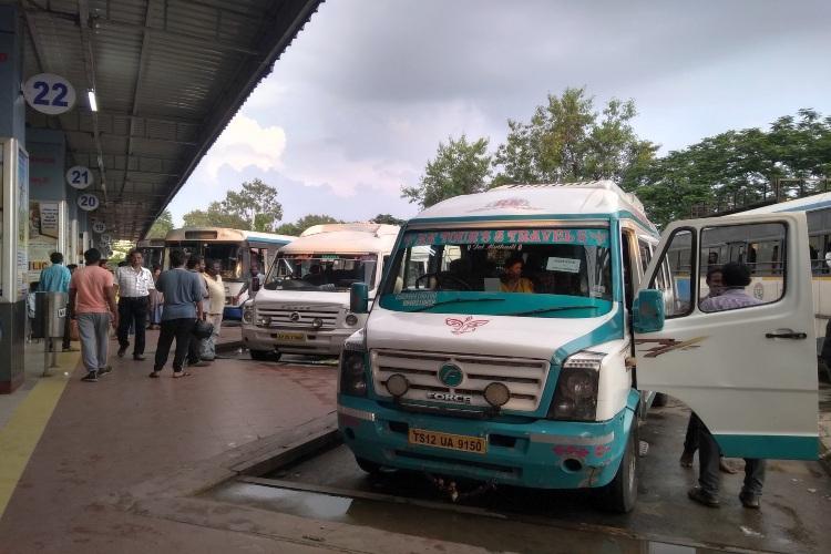 As Telangana bus strike continues authorities seek alternate ways to run services
