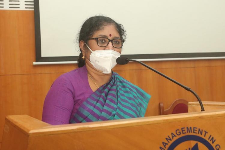 R Bindu, Higher Education Minister facebook photo