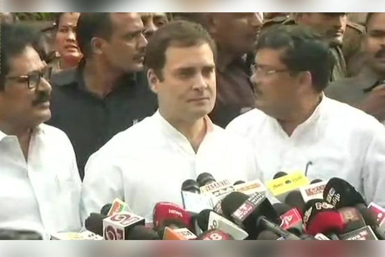 Karunanidhi is a fighter says Rahul Gandhi after meeting DMK leader in hospital