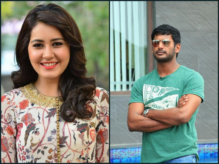 Raashi Khaana likely to star with Vishal in Temper Tamil remake