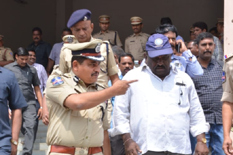 Security beefed up for India-Aus ODI cricket match in Hyds Uppal stadium