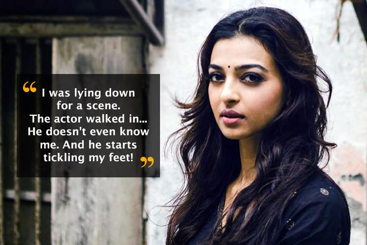 Watch When Radhika Apte snapped at a big star in Telugu film for tickling her on set