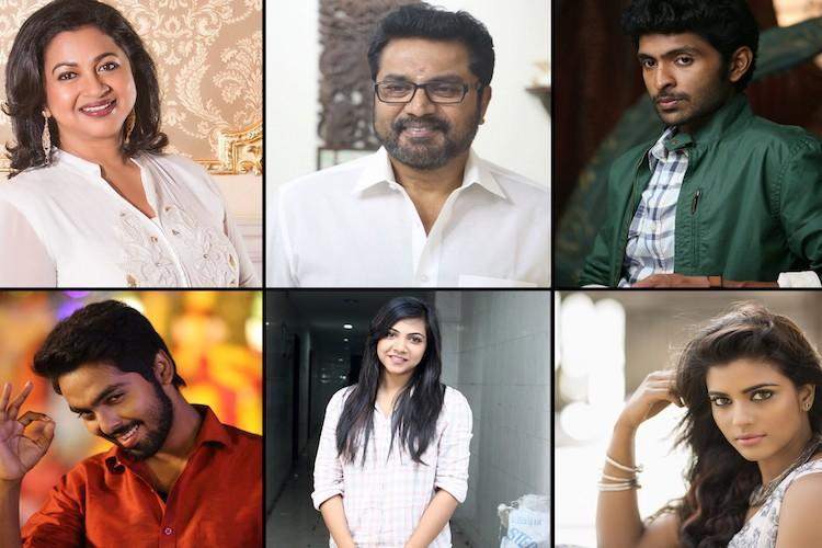 Vikram Prabhu Radikaa and Sarathkumar to star in Mani Ratnams next production