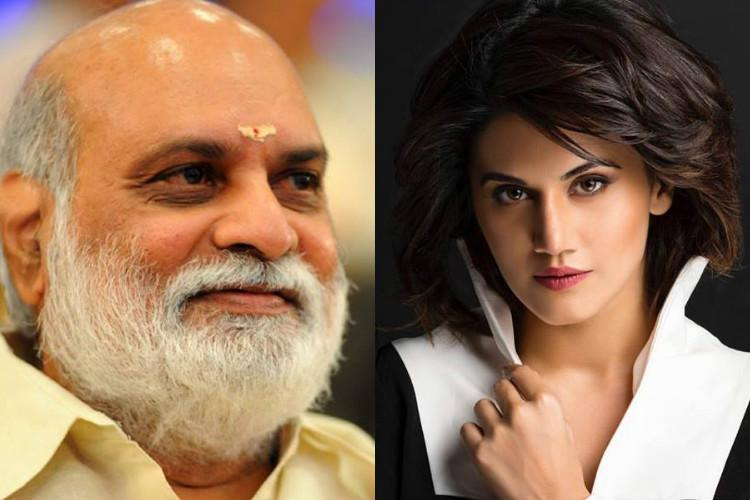 Was taking dig at myself I respect Raghavendra Rao Taapsee Pannu posts apology