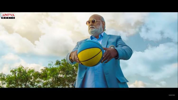Raghavendra rao playing basket ball