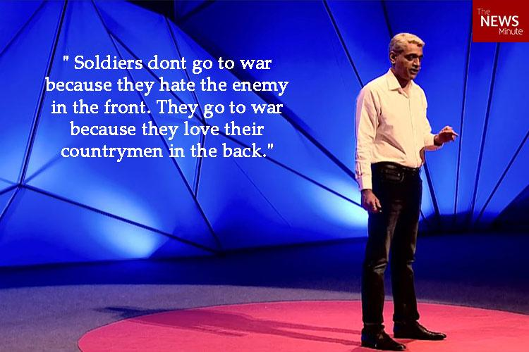 TedX speech by an Indian army man on diversity is going viral after surgical strikes