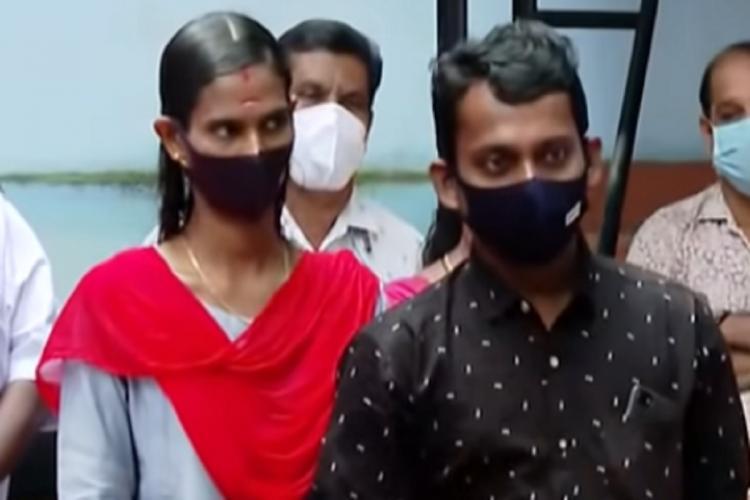 Rahman and Sajitha screenshot