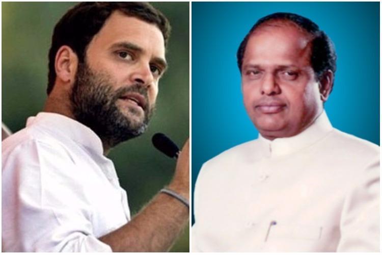 BJP veteran and BSY loyalist V Dhananjay Kumar joins Congress