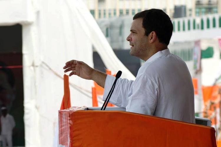 Grant special category status to Andhra says Rahul Gandhi in letter to Modi