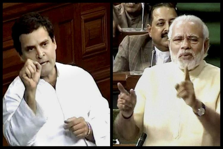 Tale of two speeches What Rahul said and how Modi responded