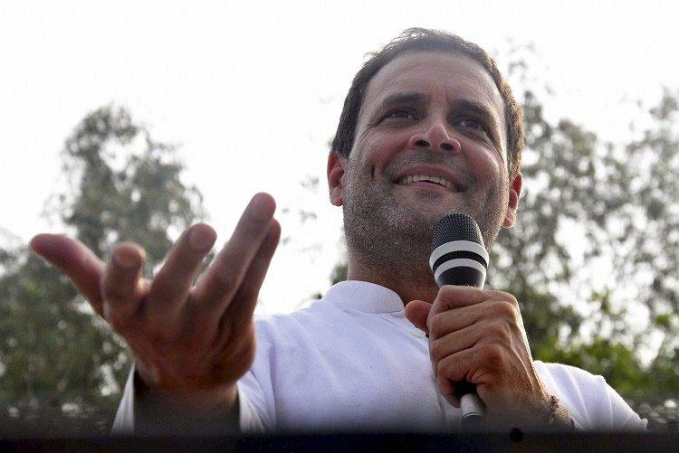 Rahul Gandhi chairs Congress national convention as Sonia gives a miss