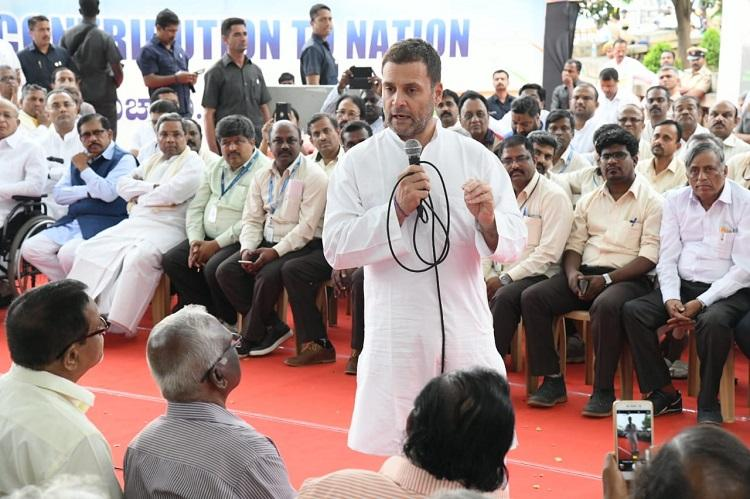 After companys memo only a few HAL employees attend public meeting with Rahul Gandhi