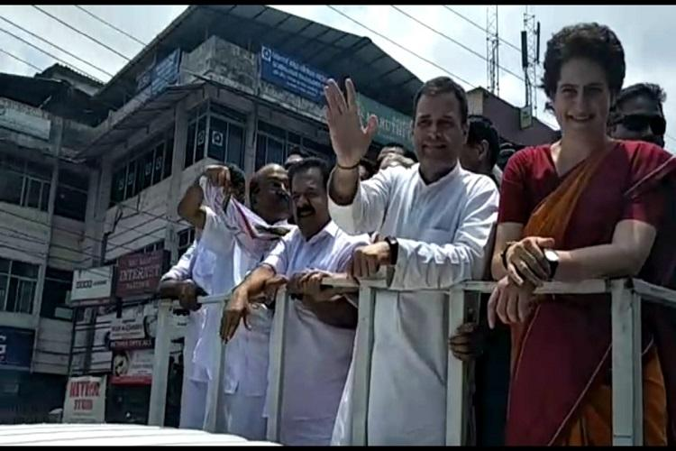 Rahul wave engulfs Wayanad but the Left says it will give him a tough fight