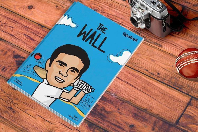 Superhero Rahul Dravid The Wall begins new innings as comic book hero