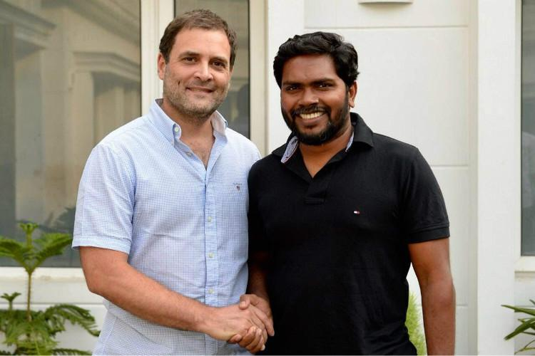 Rahul Gandhi told me he has no objection to Perarivalans release Pa Ranjith to TNM