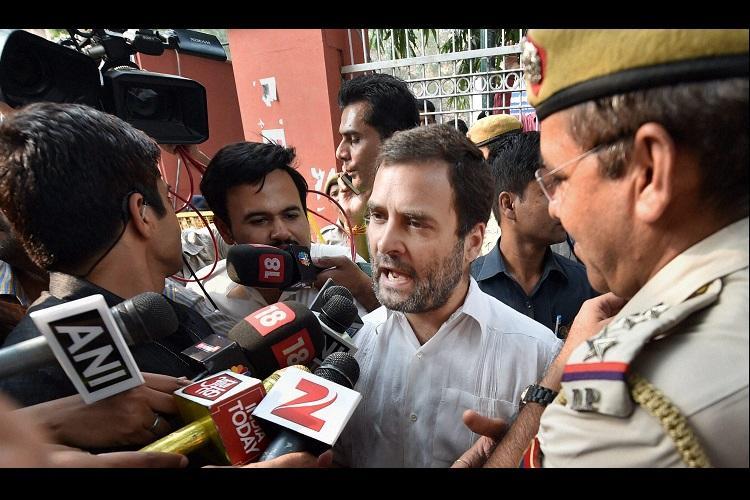Veterans suicide over OROP turns into political slugfest Rahul Gandhi Sisodia detained