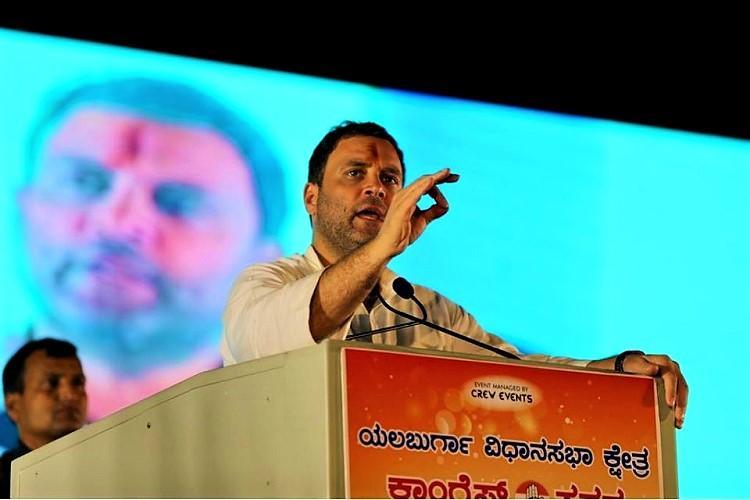 Previous BJP govt in Ktaka broke graft records Rahul Gandhi kicks off state tour