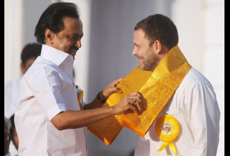 Will never let TN be ruled by Nagpur Stalin will be next CM Rahul Gandhi