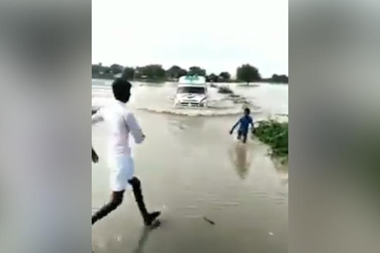 Meet Venkatesh the Karnataka boy who guided an ambulance across a flooded bridge