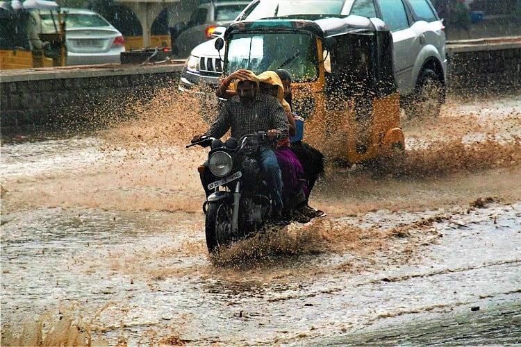 Where have the roads gone Hyderabad residents vent anger online as rain inundates streets
