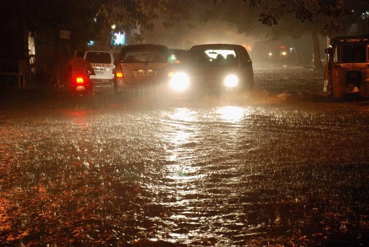 Crumbling roads make traffic crawl in Hyderabad as rain lashes city