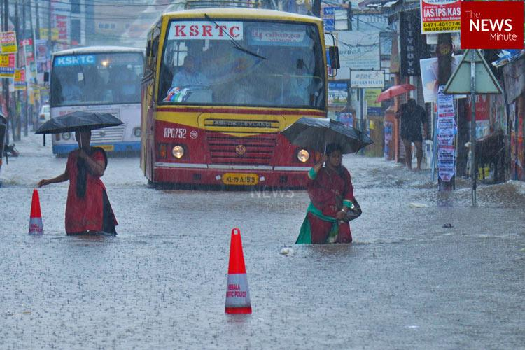 Red warning issued for 3 districts in Kerala as extremely heavy rainfall predicted