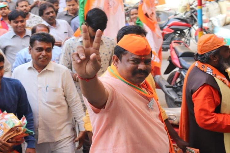 Rabble-rouser and hate-monger Raja Singh only BJP leader to win in Telangana