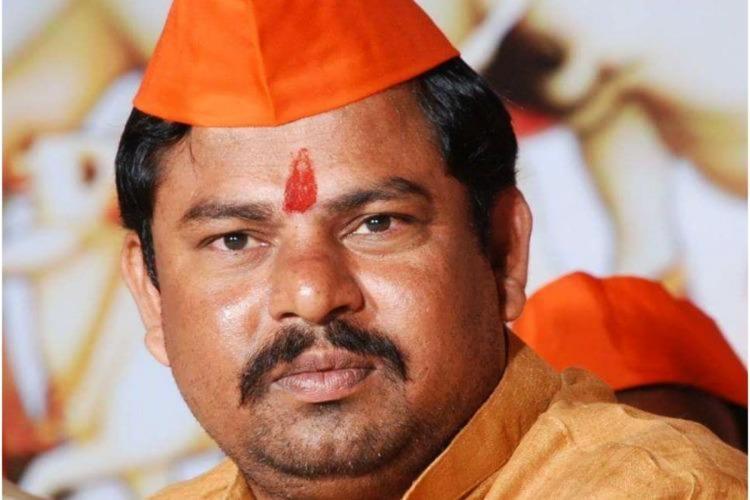Telangana BJP MLA Raja Singh