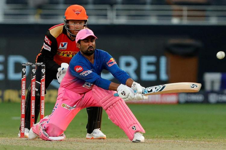 Tewatia Parag steer Rajasthan Royals to five-wicket win over SRH