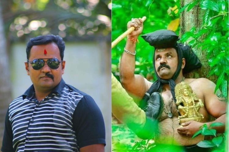 Man behind fake Sabarimala photoshoot shaves half his moustache after women entry