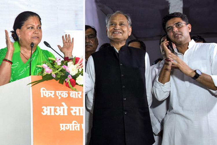 Rajasthan exit polls Congress to get majority say 4 out of 5 surveys