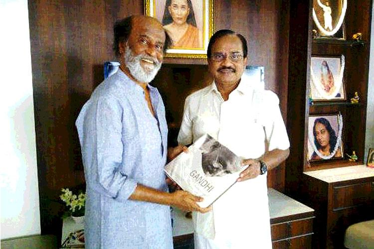 Interview Rajinikanths friend says youth will support him tells Kamal to avoid DMK