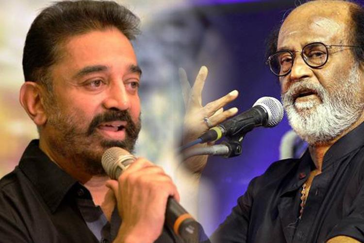 Haasan says 'saffron hue' in Rajini's politics makes tie-up unlikely